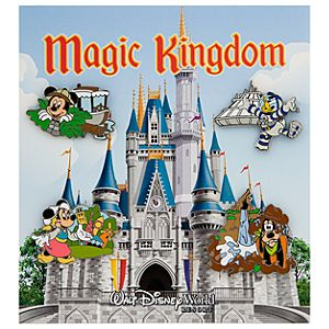 Magic Kingdom Park Pin Set - 4-Pc.