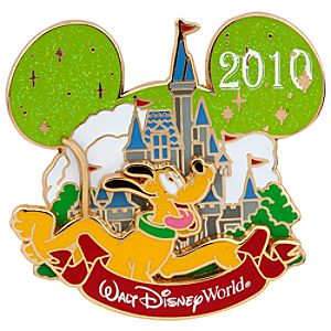 Cinderella Castle Collection Pluto Pin