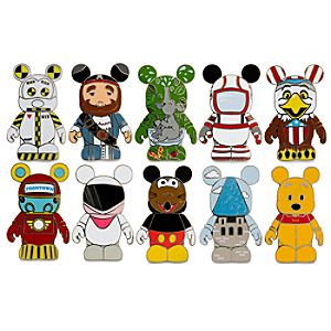 Vinylmation Park 3 Mystery Pin Set -- 2-Pc.
