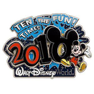 2010 Walt Disney World Resort Mickey Mouse Pin
