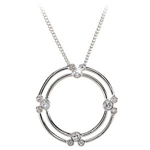 Double Circle Mickey Mouse Necklace