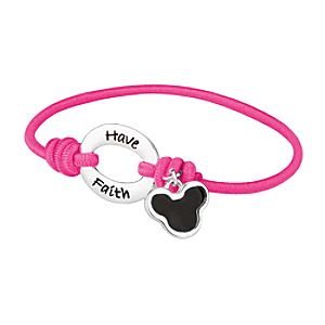 Have Faith Mickey Mouse Bracelet