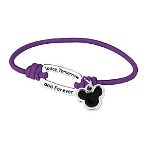 Today, Tomorrow, and Forever Mickey Mouse Bracelet