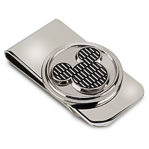 Textured Mickey Mouse Icon Money Clip