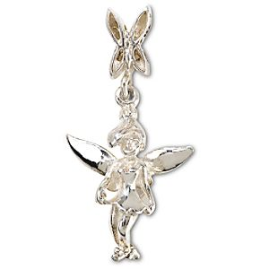 Sterling Silver Tinker Bell Chamilia Charm