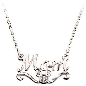 Mom Mickey Mouse Necklace