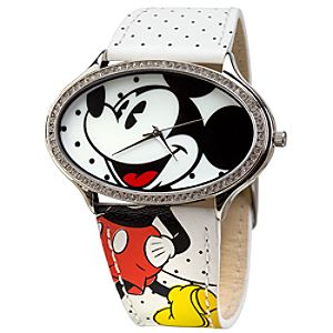Polka Dots Mickey Mouse Watch for Women