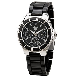 Black Mickey Mouse Watch for Men