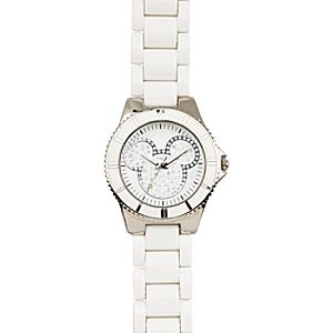 Pavé Crystal Mickey Mouse Watch for Women