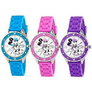 Silicone Woven Mickey Mouse Watch