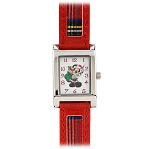 Santa Mickey Mouse Watch for Women
