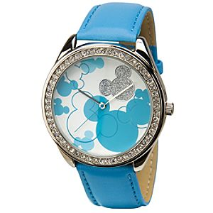 Blue Mickey Mouse Watch for Women