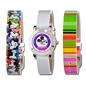 Interchangeable Bright Mickey Mouse Watch