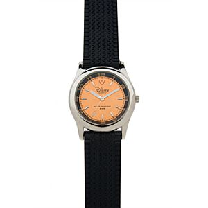 Mickey Mouse Watch with Orange Sport Tread