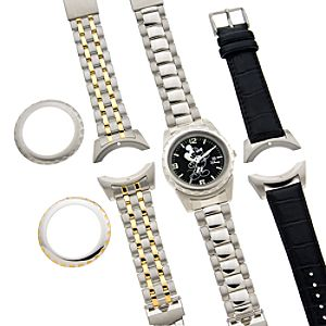 Interchangeable Mickey Mouse Watch Set for Men