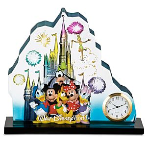 Walt Disney World Clock Sculpture