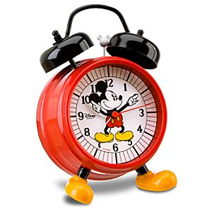 Mickey Mouse Alarm Clock with Feet