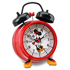 Minnie Mouse Alarm Clock with Feet