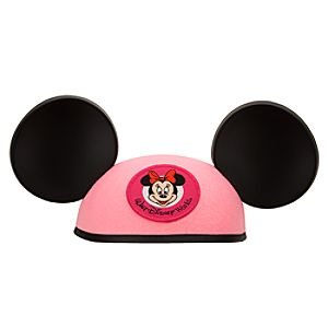 Personalizable Walt Disney World Resort Minnie Mouse Ear Hat for Girls