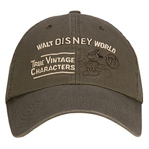 True Vintage Characters Walt Disney World Resort Baseball Cap