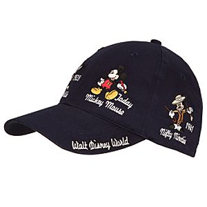 Mickey Thru the Years Mickey Mouse Baseball Cap for Adults