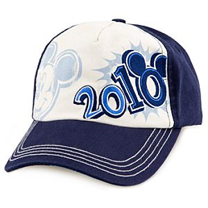 2010 Walt Disney World Resort Mickey Mouse Baseball Cap for Adults