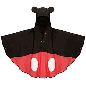 Adult Mickey Mouse Rain Poncho