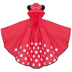 Minnie Mouse Womens Rain Poncho