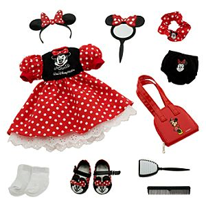 My Disney Girl Minnie Mouse Doll Costume