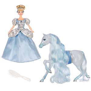 Disney Parks Collection Cinderella Doll with Horse
