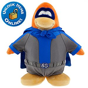 Club Penguin 9 Limited Edition Penguin Plush - Shadow Guy