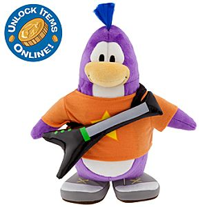 Club Penguin 9 Limited Edition Penguin Plush - Rocker