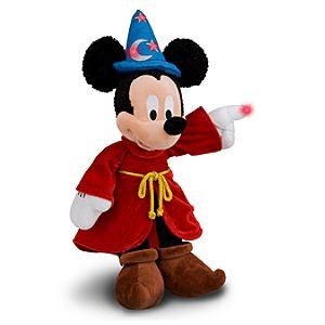 Light-Up Sorcerer Mickey Mouse Plush Toy -- 15
