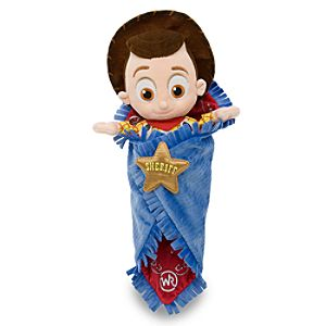 Personalized Disneys Babies Woody Plush Toy and Blanket