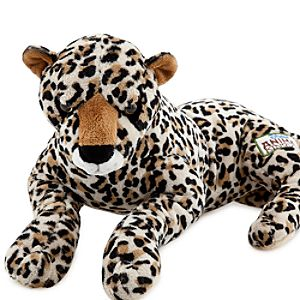 Disney Worldwide Conservation Fund Cheetah Plush Toy -- 15 L