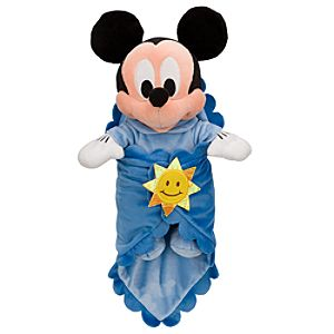 Disneys Babies Mickey Mouse Plush Doll and Personalized Blanket