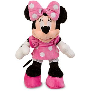 Minnies Closet Dress-Up Minnie Mouse Plush Doll -- 13