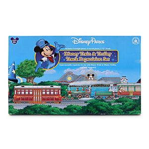 Walt Disney World Resort Railroad Train Track Set -- 13-Pc.