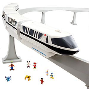 Walt Disney World Resort Monorail Play Set