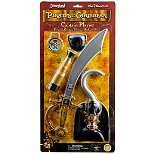 Mickey Mouse Pirates of the Caribbean Captain Play Set