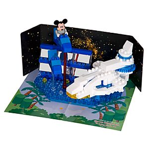 Space Mountain Building Blocks Set
