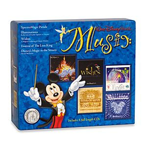 Walt Disney World Music 5-Disc CD Box Set