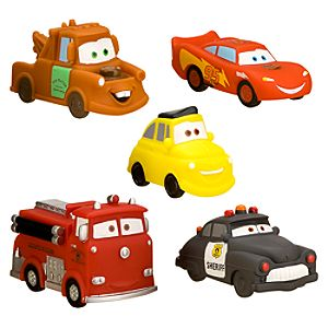 Disney Cars Squeeze Toy Set - 5-Pc.