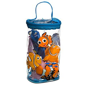 Finding Nemo Bath Toy Set -- 4-Pc.