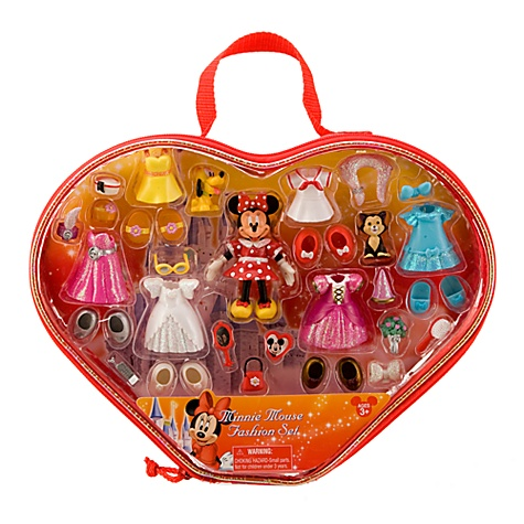 Minnie Mouse Figurine Fashion Play Set