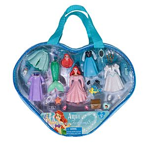 Ariel Figurine Fashion Play Set
