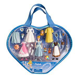 Cinderella Figurine Fashion Play Set