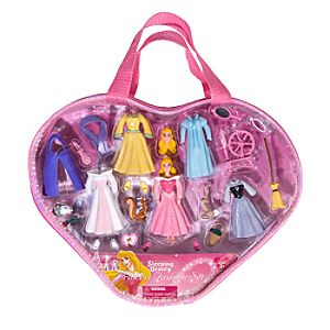 Sleeping Beauty Figurine Fashion Play Set