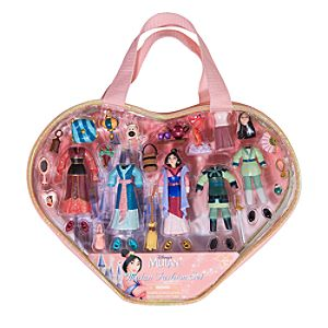 Mulan Figurine Fashion Play Set