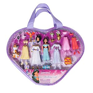 Princess Jasmine Figurine Fashion Play Set